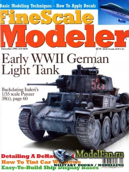 FineScale Modeler Vol.14 №10 (December 1996)