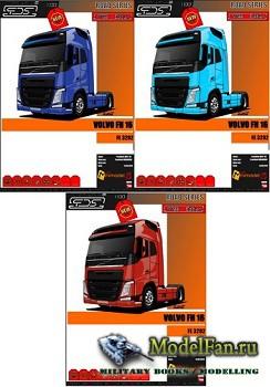 FDS - Volvo FH16 - 3 вариантa (Перекрас модели)