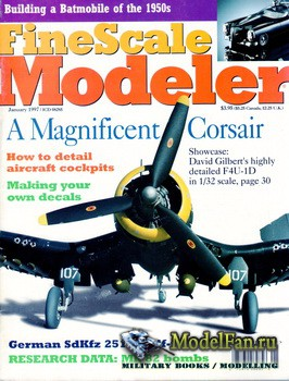 FineScale Modeler Vol.15 №1 (January 1997)