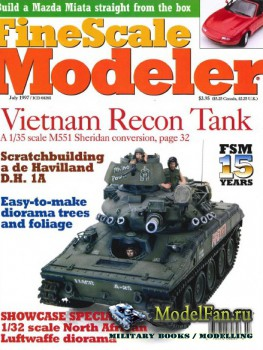 FineScale Modeler Vol.15 №6 (July 1997)