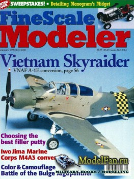 FineScale Modeler Vol.16 №1 (January 1998)