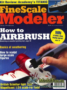 FineScale Modeler Vol.17 №2 (February 1999)