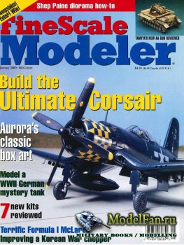 FineScale Modeler Vol.18 №1 (January 2000)