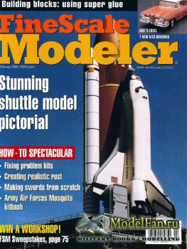 FineScale Modeler Vol.18 №2 (February 2000)