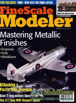 FineScale Modeler Vol.18 №4 (April 2000)