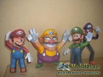 Paperjuke - Марио и Луиджи