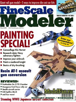 FineScale Modeler Vol.19 №3 (March 2001)