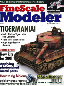 FineScale Modeler Vol.19 №4 (April 2001)