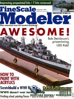 FineScale Modeler Vol.19 №7 (September 2001)
