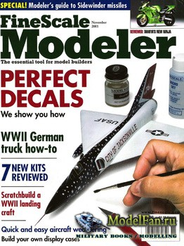 FineScale Modeler Vol.19 №9 (November 2001)