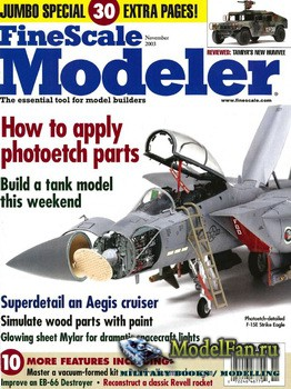FineScale Modeler Vol.21 №9 (November 2003)