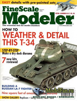 FineScale Modeler Vol.24 №1 (January 2006)