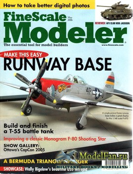 FineScale Modeler Vol.24 №5 (May 2006)