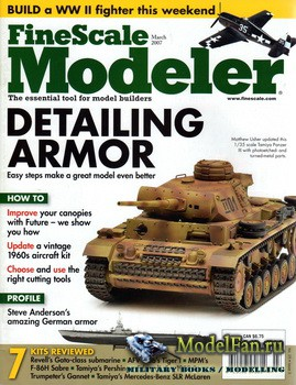 FineScale Modeler Vol.25 №3 (March 2007)