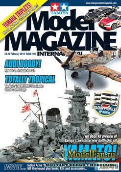 Tamiya Model Magazine International №196 (February 2012)