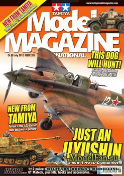Tamiya Model Magazine International №201 (July 2012)