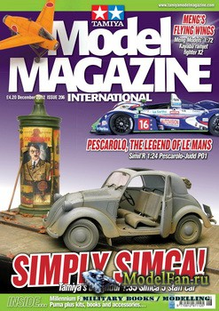Tamiya Model Magazine International №206 (December 2012)