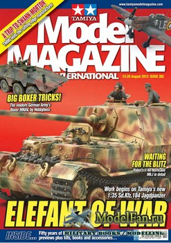 Tamiya Model Magazine International №202 (August 2012)