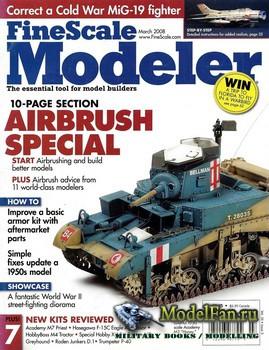 FineScale Modeler Vol.26 №3 (March 2008)