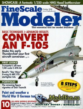 FineScale Modeler Vol.26 №8 (October 2008)