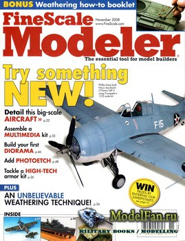 FineScale Modeler Vol.26 №9 (November 2008)
