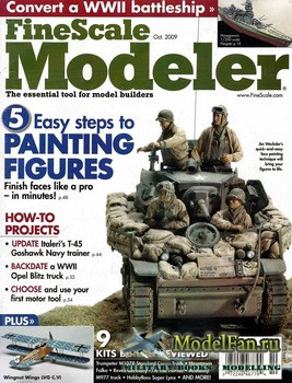 FineScale Modeler Vol.27 №8 (October 2009)