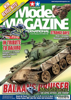 Tamiya Model Magazine International №208 (February 2013)