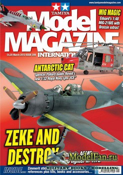 Tamiya Model Magazine International №209 (March 2013)