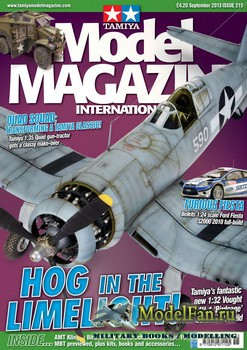 Tamiya Model Magazine International №215 (September 2013)