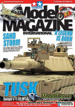 Tamiya Model Magazine International №216 (October 2013)