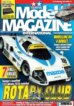 Tamiya Model Magazine International №217 (November 2013)