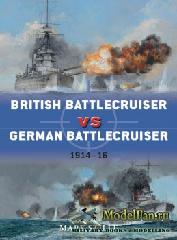 Osprey - Duel 56 - British Battlecruiser vs German Battlecruiser: 1914-1916