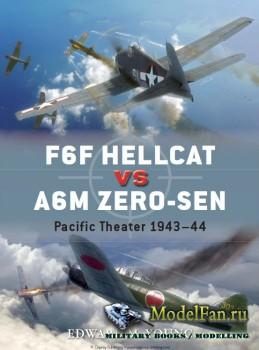 Osprey - Duel 62 - F6F Hellcat vs A6M Zero-sen: Pacific Theater 1943-1944
