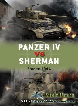 Osprey - Duel 70 - Panzer IV vs Sherman: France 1944