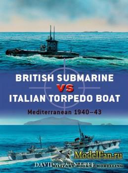 Osprey - Duel 74 - British Submarine vs Italian Torpedo Boat: Mediterranean ...