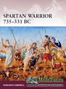 Osprey - Warrior 163 - Spartan Warrior 735-331 BC