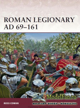Osprey - Warrior 166 - Roman Legionary AD 69-161