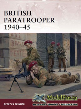 Osprey - Warrior 174 - British Paratrooper 1940-1945