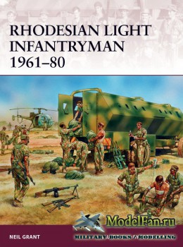 Osprey - Warrior 177 - Rhodesian Light Infantryman 1961-1980
