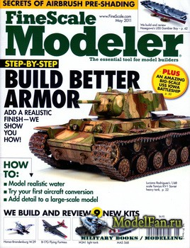 FineScale Modeler Vol.29 №5 (May 2011)