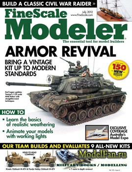 FineScale Modeler Vol.30 №6 (July 2012)