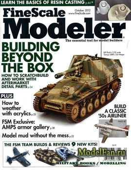 FineScale Modeler Vol.30 №8 (October 2012)