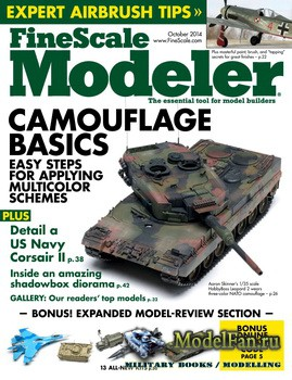 FineScale Modeler Vol.32 №8 (October 2014)