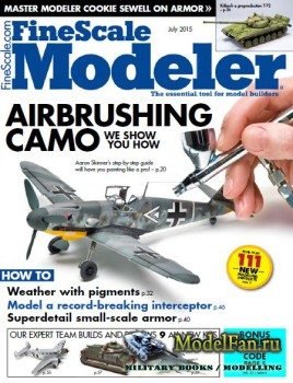 FineScale Modeler Vol.33 №6 (July 2015)