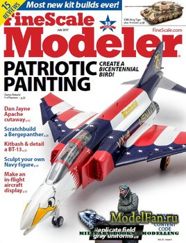 FineScale Modeler Vol.35 №6 (July 2017)