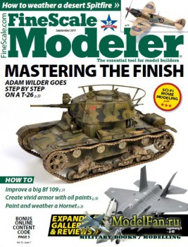 FineScale Modeler Vol.35 №7 (September 2017)