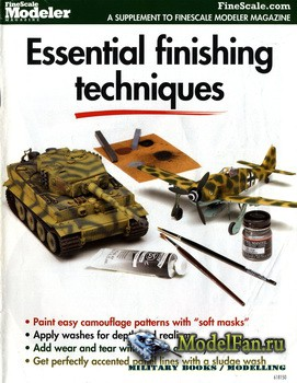 FineScale Modeler Magazine - Essential Finishing Techniques