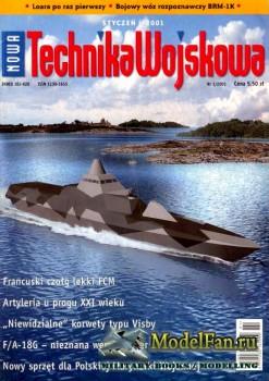 Nowa Technika Wojskowa 1/2001
