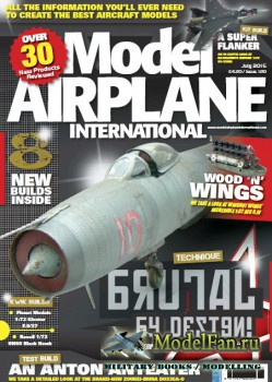 Model Airplane International №120 (July 2015)