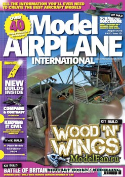 Model Airplane International №121 (August 2015)